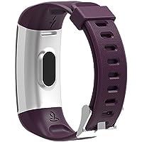 Run-GPS 2019 Herzfrequenz Armband Tracker 24 Sportarten Multisport eingebautes GPS Wasserdicht Farb-LCD-Display Fitness Aktivität Schrittzähler Kalorien Herzfrequenz-Messer Schlaf-Analyse Wetter