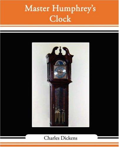 Master Humphrey's Clock Cover Image