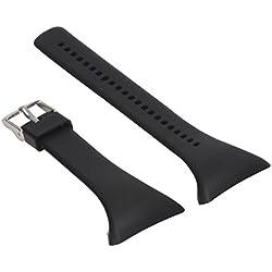 MagiDeal Montre De Silicone Bracelet De Rechange Brande Remplacement Pour Polar FT4 Ft7 F Montre Noir