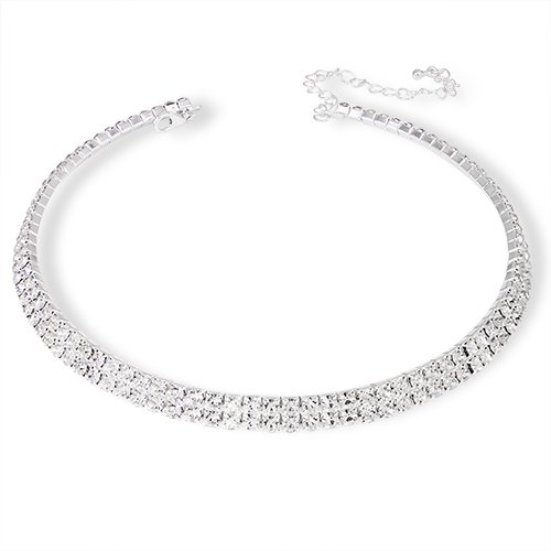 silver-plated-cubic-zirconia-rhinestone-collar-choker-necklace-for-wedding-prom-bridesmaid-gift-pres