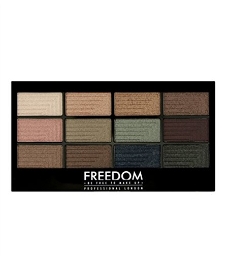 Freedom Makeup - Lidschatten Palette - Pro12 Romance and Jewels
