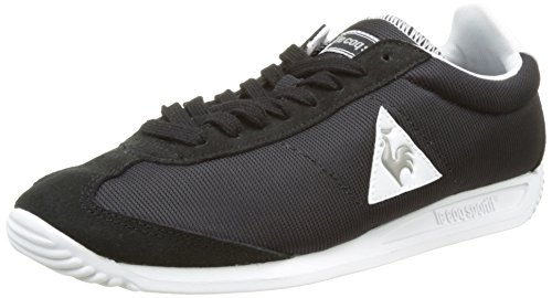 Le Coq Sportif Quartz, Basses Mixte Adulte Noir (Black/Old Silver)
