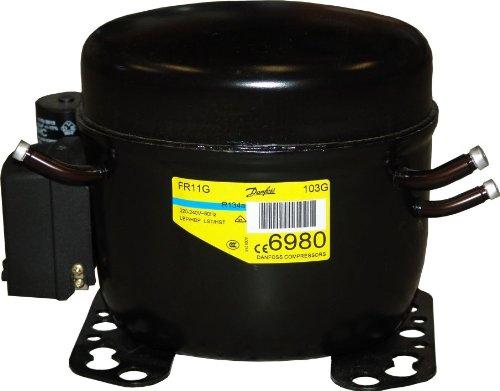 Preisvergleich Produktbild Kompressor Danfoss FR-11 G, R134a, Hubvolumen 11.15 cm3, 220-240 V