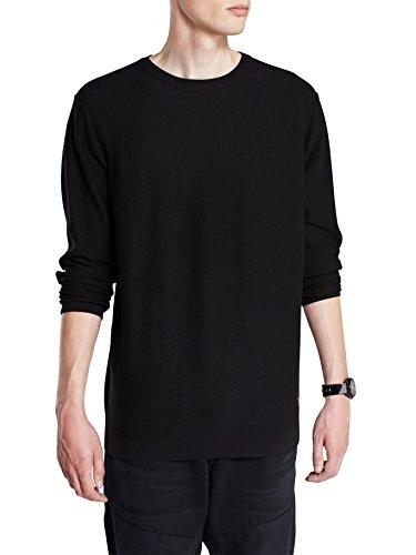 JACK & JONES Herren Pullover JJCOSharp Knit Crewneck NOOS Schwarz (Black C-N10)