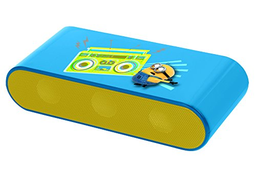 LEXIBOOK Despicable ME Minions Bluetooth Speaker 2X3W Enceintes PC / Stations MP3 RMS 3 W