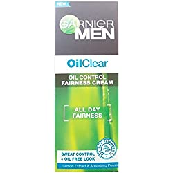 Garnier Men Oil Clear Fairness Cream Sweat Control with Oil Free Look, 45g