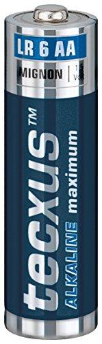 Tecxus Batterie Mignon (AA) Alkaline Maximum (48er Pack, LR6, 1,5V)