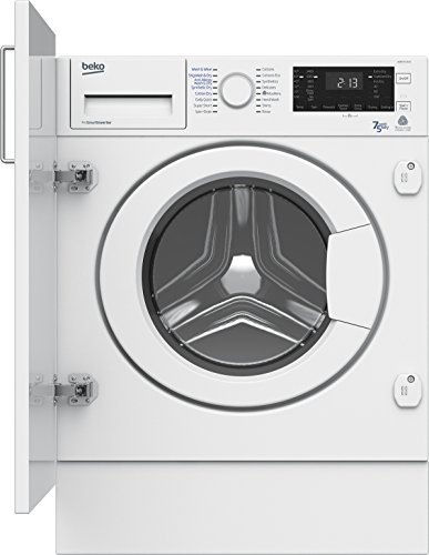 Beko WDIR7543101 A Rated Built-In Washer Dryer - White