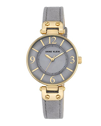 anne-klein-womens-chelsea-quartz-watch-with-grey-dial-analogue-display-and-grey-leather-strap-ak-n27