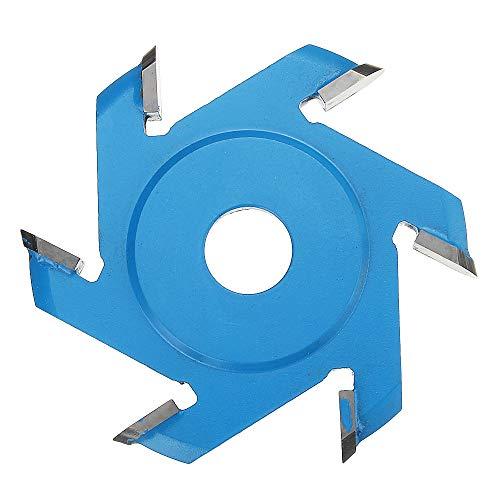 KUNSE 75-100mm Wood Carving Disc Hexagonal Shovel Grinder Disc Für 100/115 Winkel Grinder-100mm