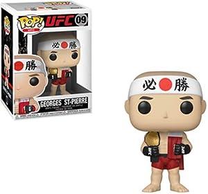 Funko- Pop Vinilo: UFC: George St. Pierre Figura Coleccionable, Multicolor (37802)