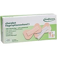 silverplast Fingerspitzenverband, 8x4,5cm (50 Stk./Pkg.) preisvergleich bei billige-tabletten.eu