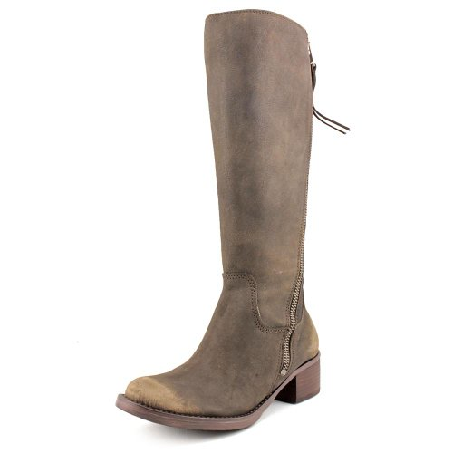 Lucky-Brand-Hackett-Womens-Brown-Fashion-Knee-High-Boots-Size-UK-45