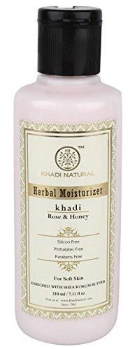 khadi Natural healthcare Herbal Rose and Honey Moisturizer (210 ml)