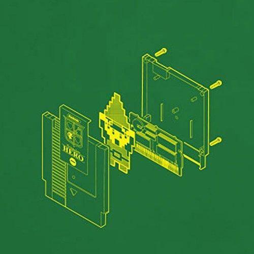 Hero Cartridge - Stofftasche / Beutel Grün