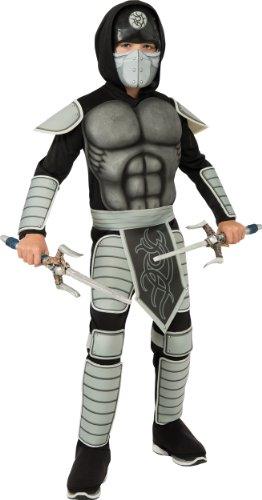 Rubies Costume Co R886642-S Jungen Stealth Ninja Kost-m Gr--e (Ninja Jungen Stealth Kostüm)