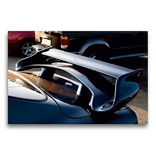 Premium Textil-Leinwand 75 x 50 cm Quer-Format Opel Manta   Wandbild, HD-Bild auf Keilrahmen, Fertigbild auf hochwertigem Vlies, Leinwanddruck von Karin Sigwarth