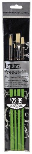 Liquitex Free Style Traditional Pinsel Set 4 Stück