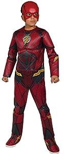 Marvel - Disfraz de Flash calidad Premium para niños, infantil 8-10 años (Rubie