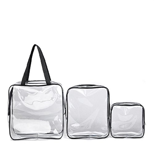 Fulltime® Voyage Doit-Transparent Waterproof Pouch Cosmetic Wash Bath Supplies Sac
