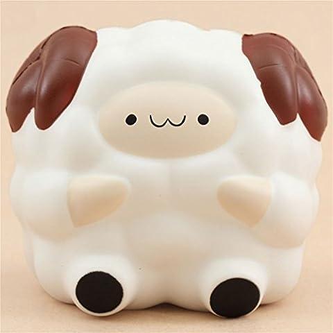 Squishy kawaii, mouton Jumbo Pop Pop Sheep blanc taille moyenne par Pat Pat Zoo