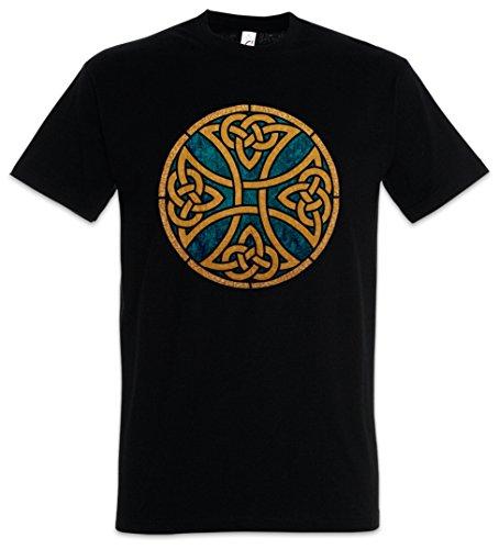Celtic Knot Logo Sign VII T-Shirt - Kelten Knoten Iron EK Kreuz Cross Runen Odin Größen S - 5XL (XL) - Celtic-logo-t-shirt