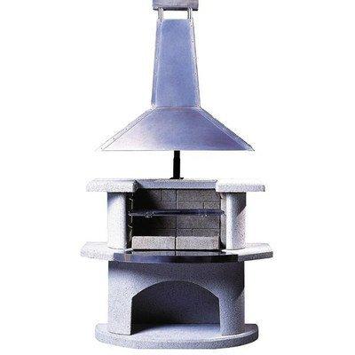 54cm Venedig Masonry Charcoal Barbecue