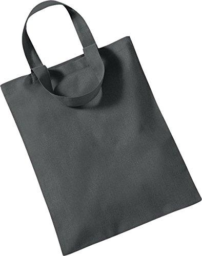 Westford Mill Aufbewahrung Shopper Handtasche Mini Tasche für Life One Größe Grau - Graphite Grey