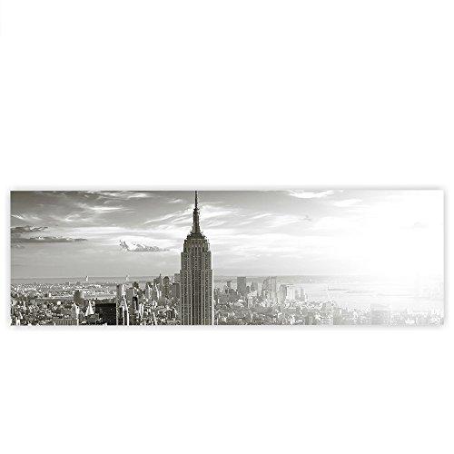 leinwandbild-145x45-cm-premium-leinwand-bild-wandbild-kunstdruck-wanddeko-wand-canvas-manhattan-skyl