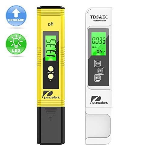 Calidad Agua Medidor Prueba pancellent TDS PH CE Temperatura