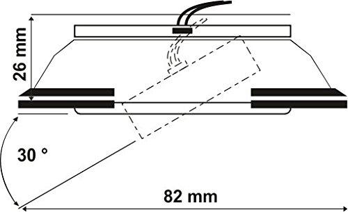 Ultra Flach LED Einbaustrahler - 6