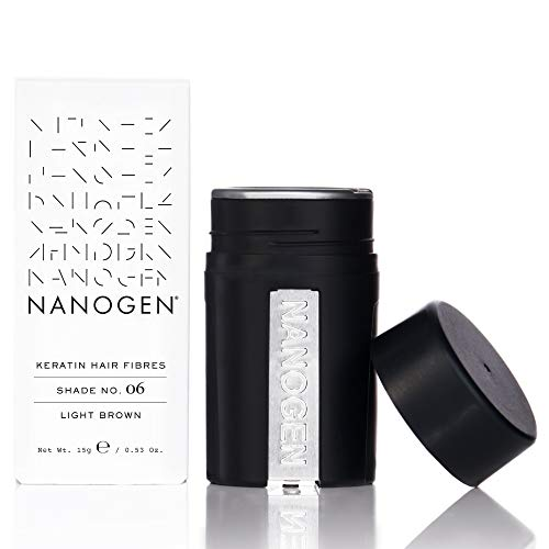 Nanogen Fibras Capilares Queratina: Castaño Claro