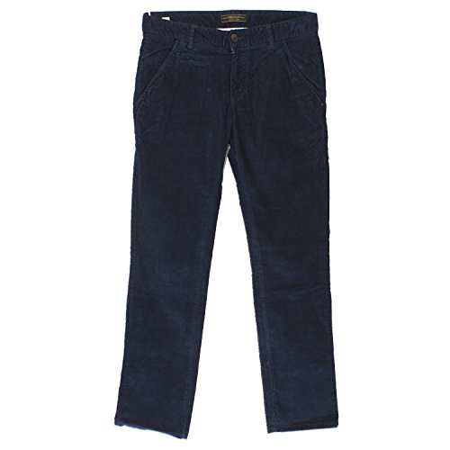 Premium by Jack & Jones, Herren Jeans Hose, Field cord,Nadelcordstretch,navy blue [17379] Navy Blue