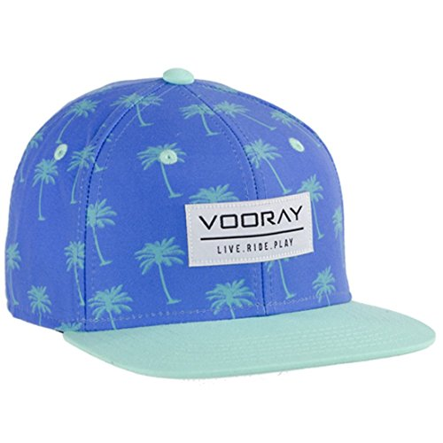 vooray-palmer-snapback-hat-cap-turquoise