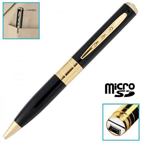 Bolgrafo-cmara-espa-con-Micro-Integrado--Tarjeta-Micro-SD-4-GB
