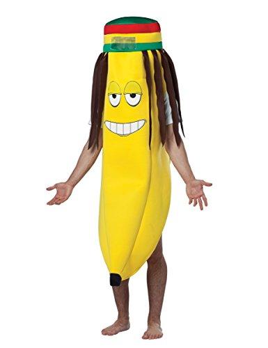 Kostüm Für Bananen Erwachsene - Generique - Rasta Banane-Kostüm für Erwachsene Einheitsgröße