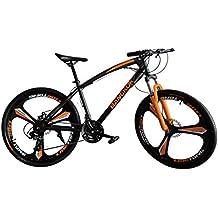 Helliot Bikes by Bangkok Bicicleta de montaña y Urbana, Unisex Adulto, Naranja, ...