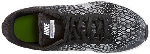 Nike Jungen Air Max Sequent 2 Laufschuhe Schwarz (Black/white/dk Grey/Wolf Grey)