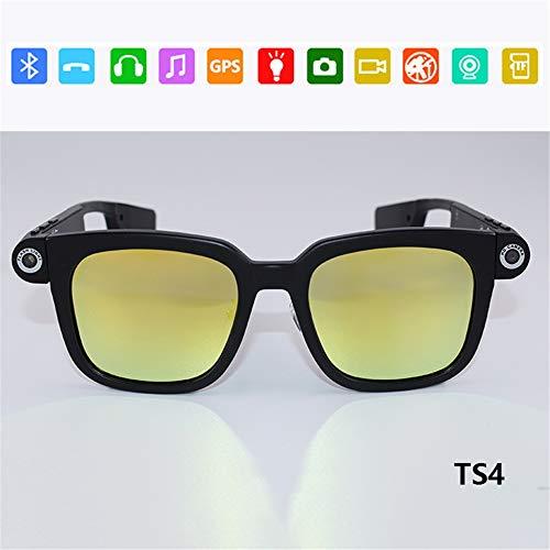 Detalles rápidosNombre del producto: nueva moda eyewear 8GB cámara Bluetooth MP3 gafas de sol de alta definición de apoyo: 720P (HD)Tipo de medios: MiniDVZoom óptico: Tamaño de la pantalla: Material: material hecho a manoLentes de lentes: lentes de e...