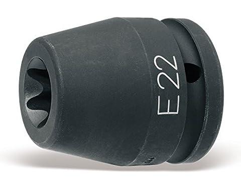 Beta 728Emblems E203/10,2cm Antrieb IMPACT Steckschlüsseleinsatz, für Torx Kopf Schrauben