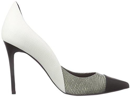 Laurèl  PUMP, Chaussures à talons - Avant du pieds couvert femme Blanc - Weiß (Mehrfarbig2120)