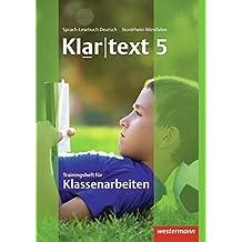 Klartext - Ausgabe für Nordrhein-Westfalen: Trainingsheft für Klassenarbeiten 5