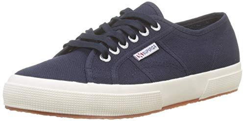Superga 2750 Cotu Classic, Unisex-Erwachsene Sneaker, Blau (Navy-White F43), 41.5 EU (7.5 UK)