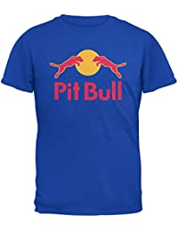 Pit Bull Energy bebida parodia Royal adulto camiseta