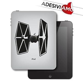 Adesiviamo Sticker Star Wars Apple Space Shuttle Aufkleber für Apple iPad und iPad Mini Vinyl Aufkleber Pre-Abstand