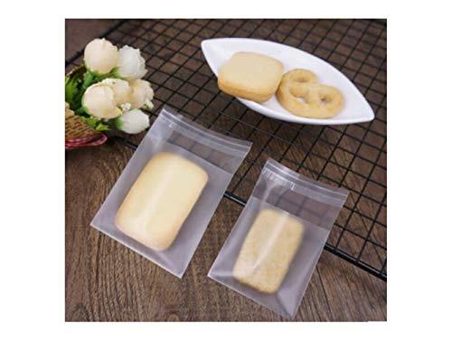 OVVO Machen Sie schöne Dekoration DIY Muster Dicke Matt Transluzent Ziplock Bag Backen Cookies Süßigkeiten Essen Taschen Selbstklebende Flache Tasche selbstdichtende Beutel