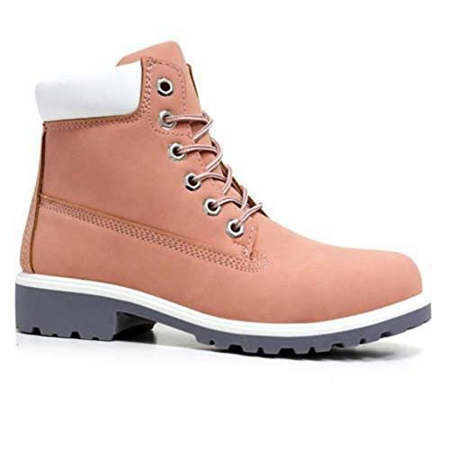Envy London , Desert boots femme Rose - rose