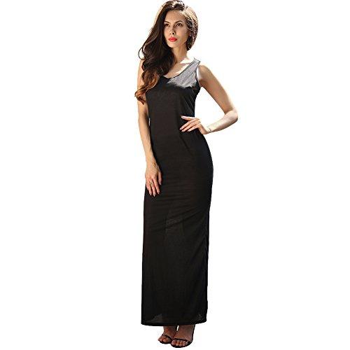 Damen Mode Großformat Lose Taille Farbe Optional Sexy Absicherung Bleistiftrock Abendkleid