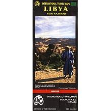 Carte routière : Libye
