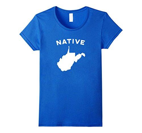 west-virginia-native-home-t-shirt-damen-grosse-l-konigsblau